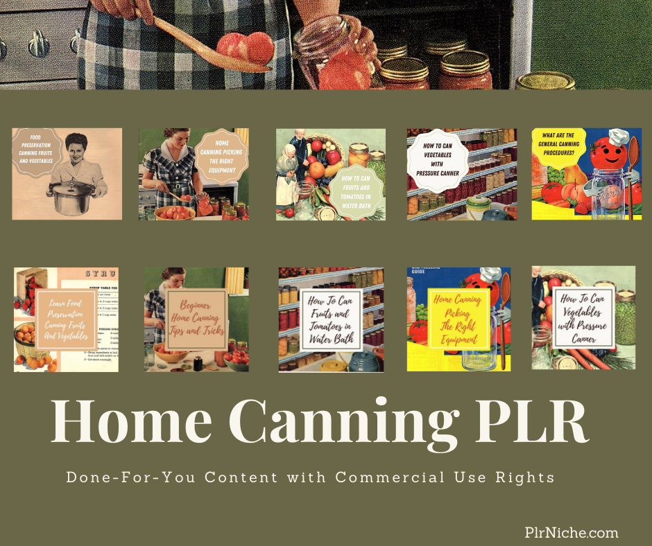 Home Canning PLR Graphics2
