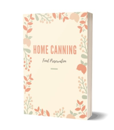Report Cover Home Canning PLR