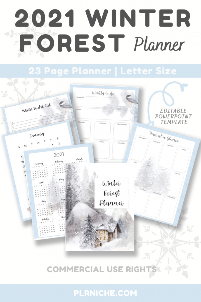 2021 Winter Forest Planner Pin1