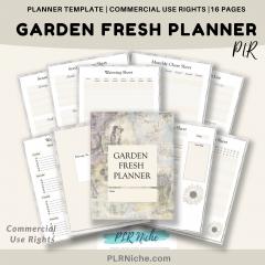 Garden Fresh Planner PLR