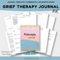 Grief Journal PLR