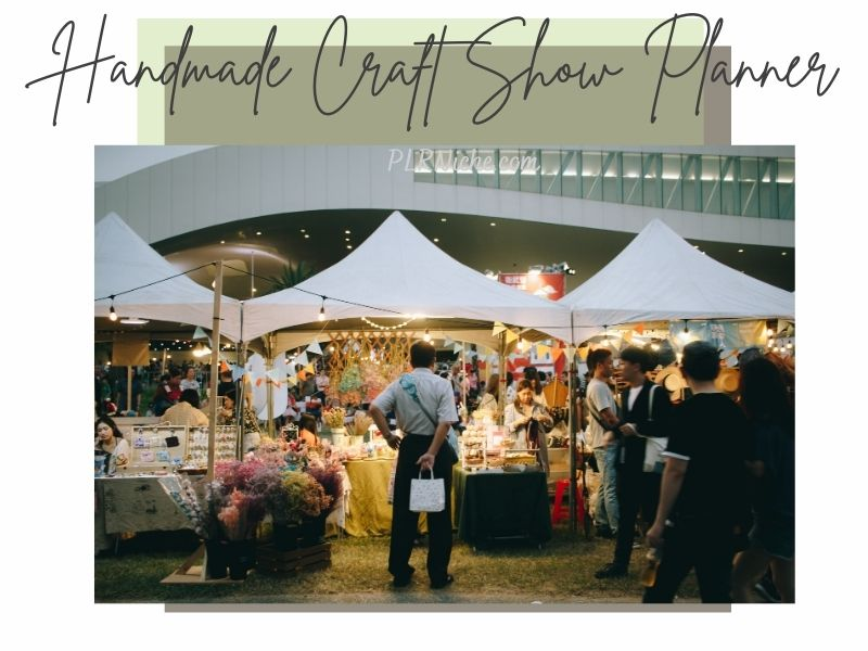 Handmade Craft Show Planner PLR