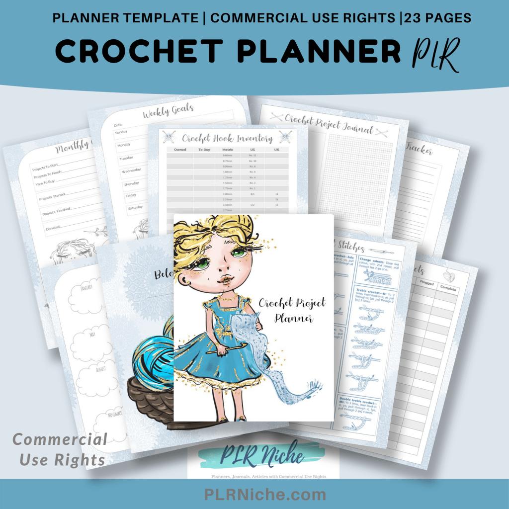 Crochet Planner PLR