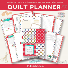 Quilt Planner PLR