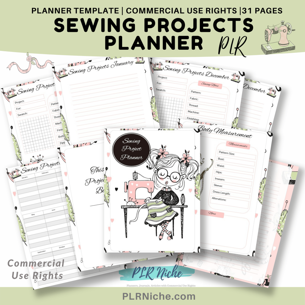 Sewing Projects PLR Featured