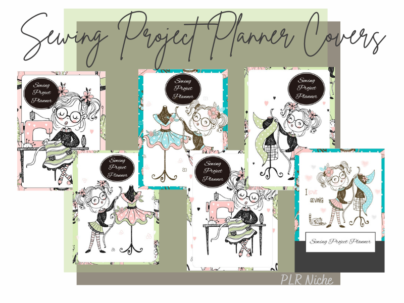 Sewing Projects Planner Covers Pic