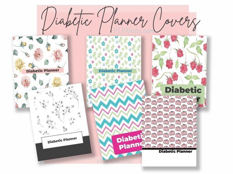 Diabetic Planner PLR Covers