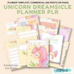 Unicorn Dreamsicle Planner Pic