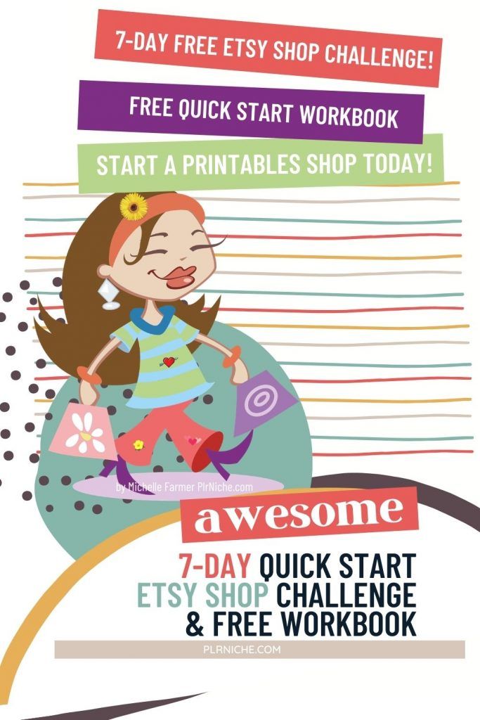 7 DAY Etsy Shop Quick Start CHALLENGE PIN