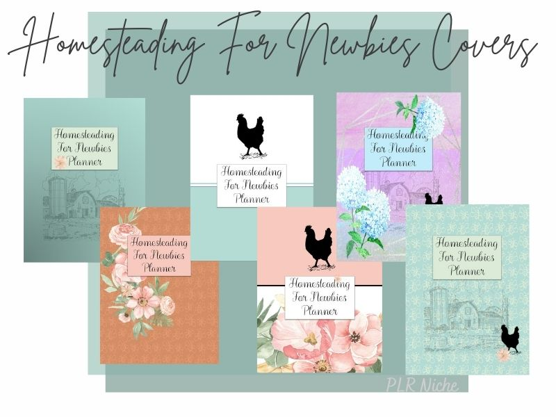 Homesteading For Newbies Covers
