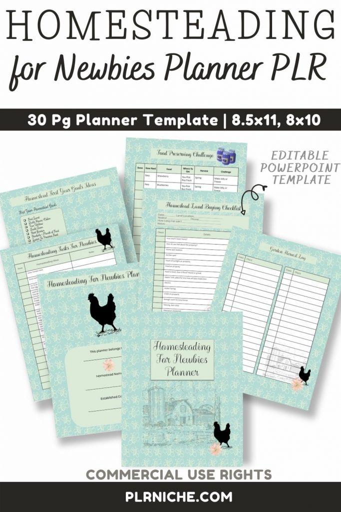 Homesteading For Newbies Planner PLR (1)