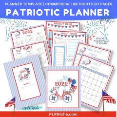 Patriotic Planner PLR