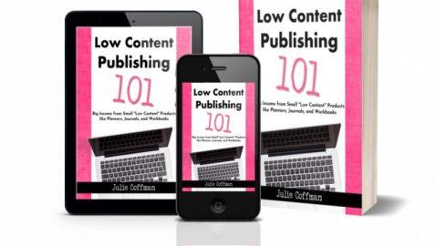 Publish Low Content Books