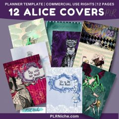 12 Alice Covers PLR top