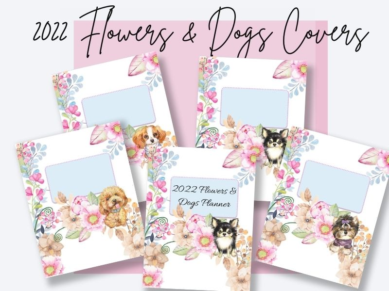 2022 Flower & Dogs Covers