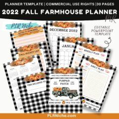2022 Fall Farmhouse Planner